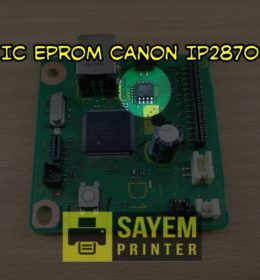 IC Eprom Reset Counter Canon IP2870